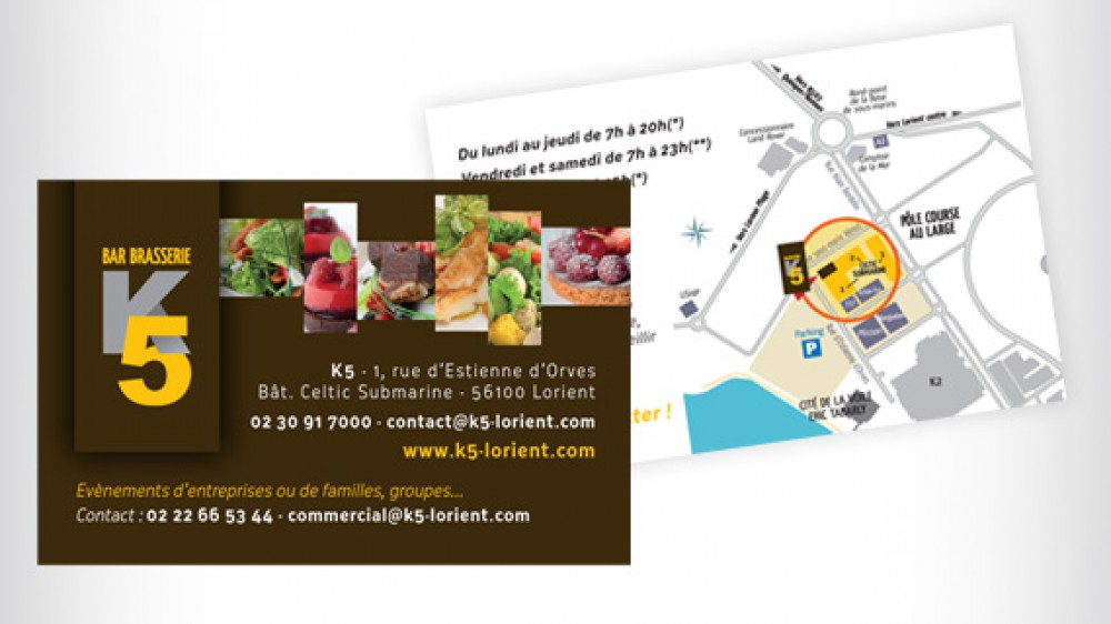 K5 Brasserie – carte