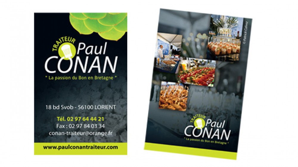 Paul Conan – carte