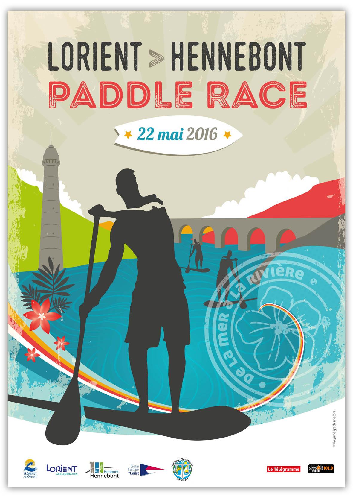 Lorient Hennebont Paddle Race 2016