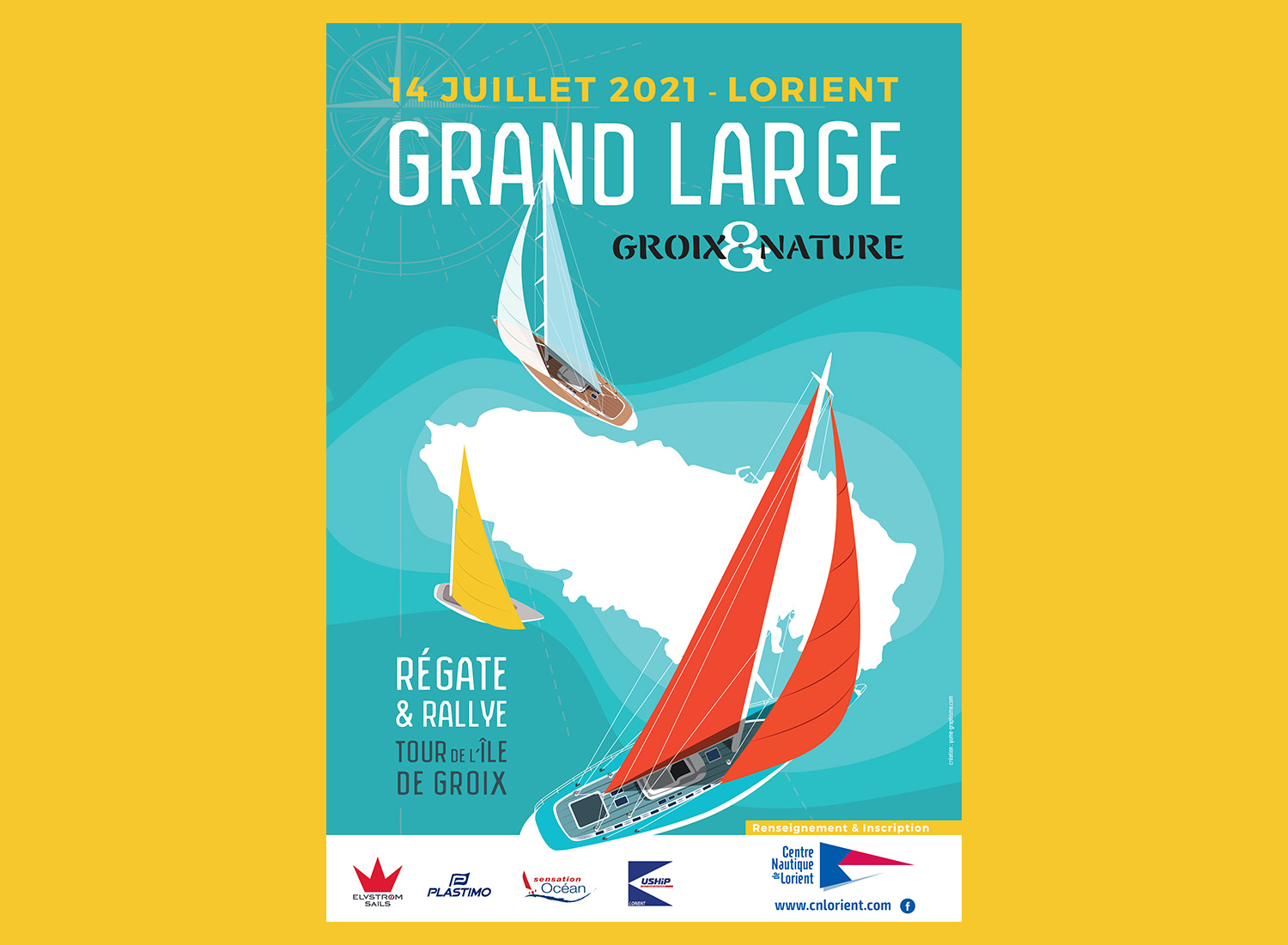 affiche grand large